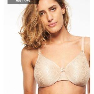 NWOT Chantelle C-Magnifique unlined bra 32DD nude